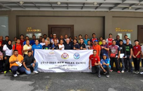 Kursus Pemurnian Undang-Undang Sofbol 2018-2021 (Umpires Refresher Course for New Rules 2018-2021), 2 – 3 May 2018